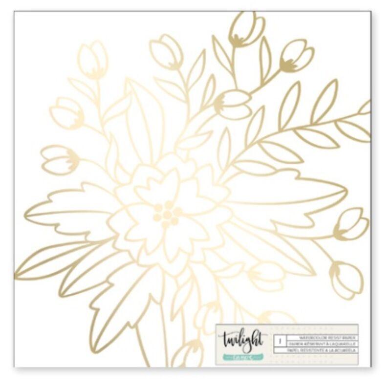 1Canoe2 - Twilight Watercolor Specialty Paper
