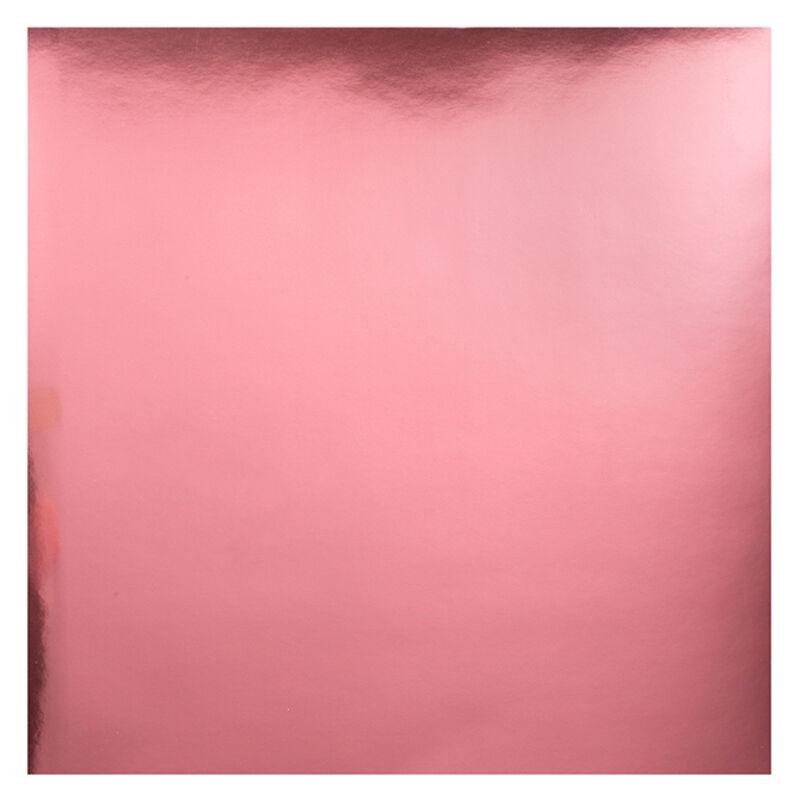 Bazzill Foil Cardstock 12x12 - Ligh Pink