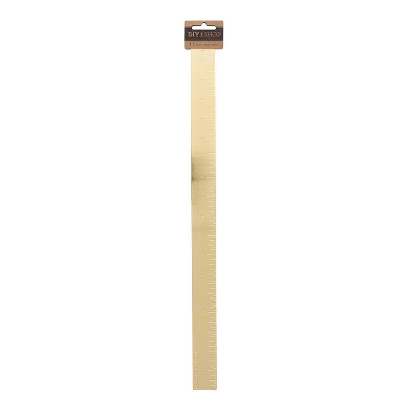 American Crafts Gold Ruler 18 inch