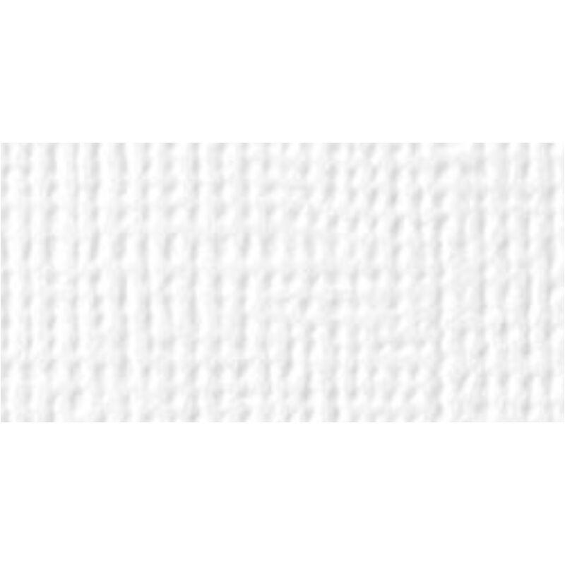 American Crafts 12x12 fehér texturált alapkarton