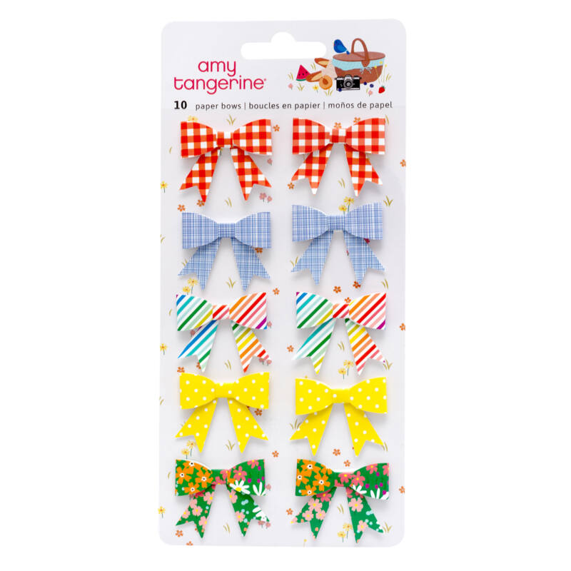 American Crafts - Amy Tangerine - Picnic in the Park papír masnik (10 db)