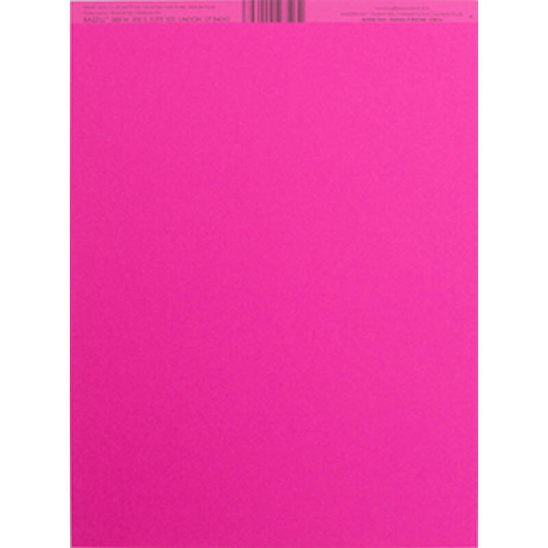 Bazzill 8.5x11 Smoothies Cardstock - Bubble Gum