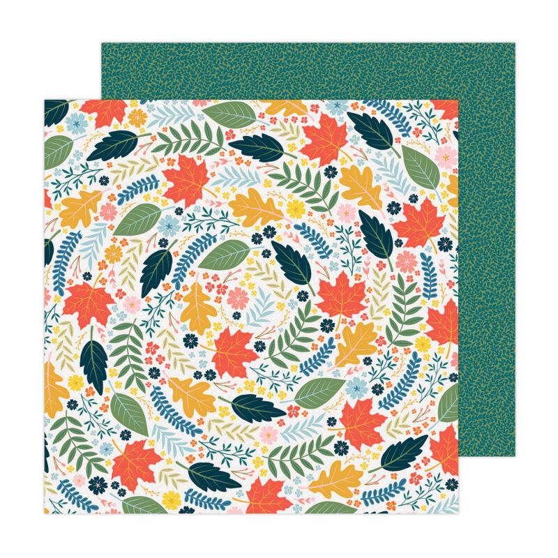 American Crafts - Paige Evans - Bungalow Lane 12x12 Paper 5
