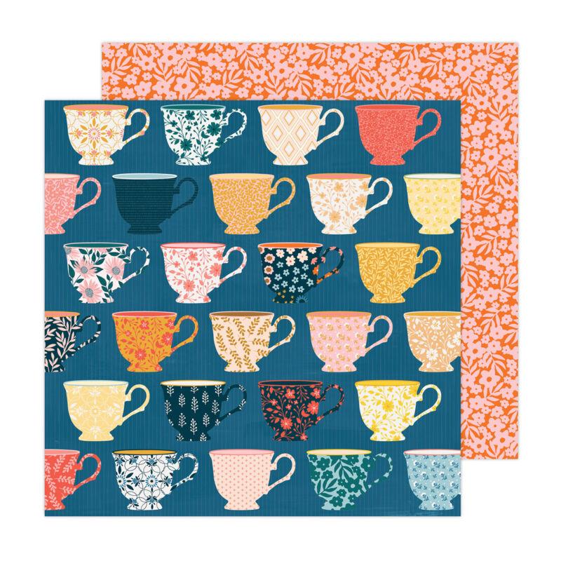 American Crafts - Paige Evans - Bungalow Lane 12x12 Paper 6