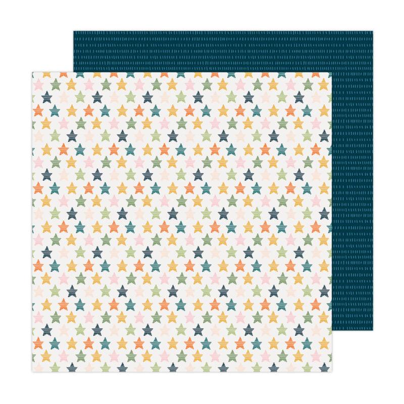 American Crafts - Paige Evans - Bungalow Lane 12x12 Paper 10