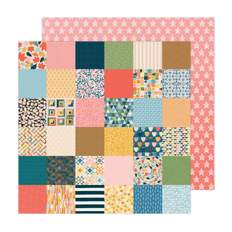 American Crafts - Paige Evans - Bungalow Lane 12x12 Paper 20