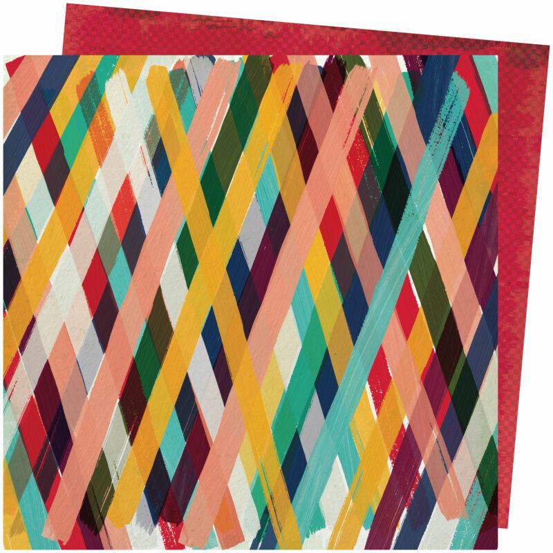 American Crafts - Vicki Boutin - Storyteller 12x12 Paper - Wild Child