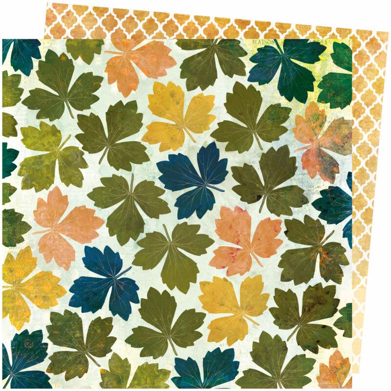 American Crafts - Vicki Boutin - Storyteller 12x12 Paper - Medley