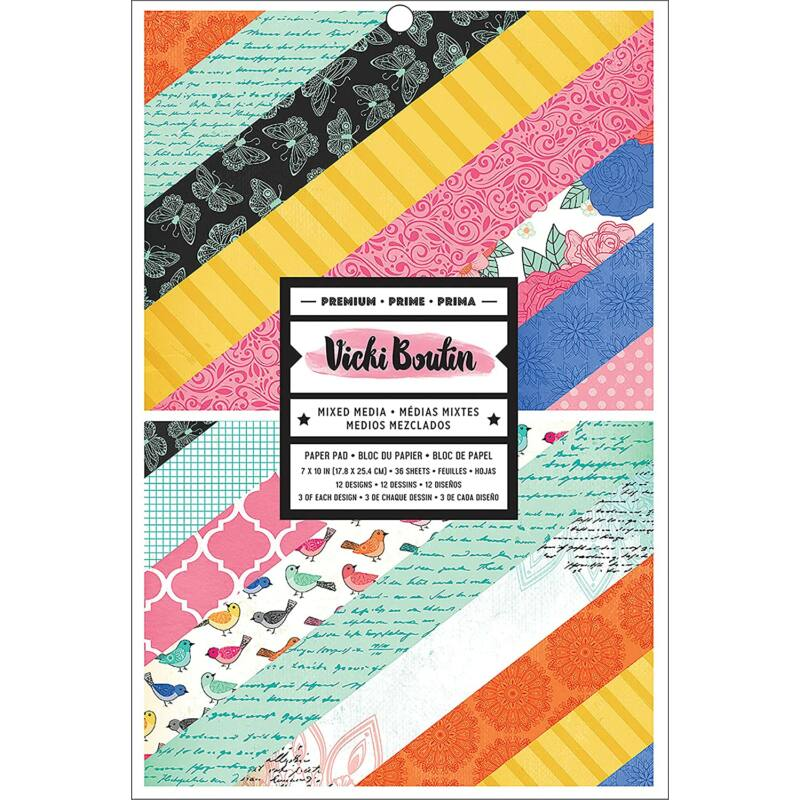 American Crafts - Vicki Boutin 7x10 Paper Pad