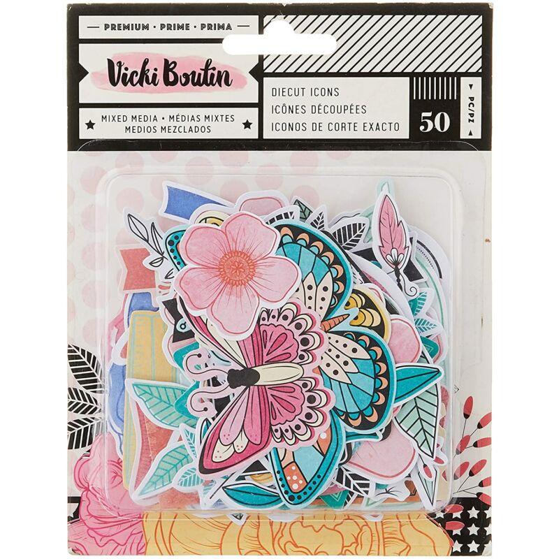 American Crafts – Vicki Boutin Ephemera Icons