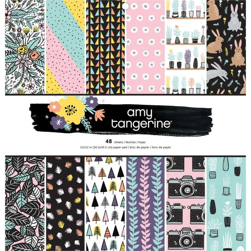 Amy Tangerine - Shine On 12x12 Paper Pad