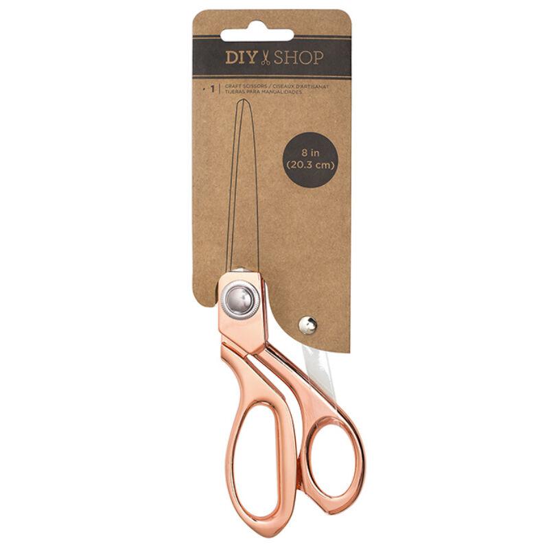 American Crafts 8 inch Scissors - Rose Gold