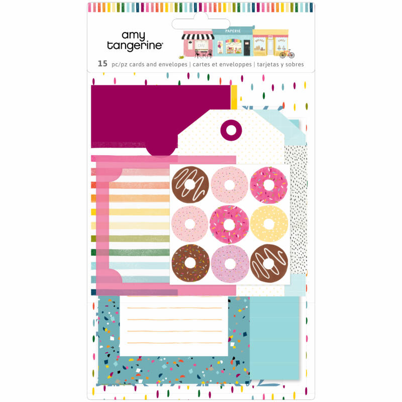 American Crafts - Amy Tangerine - Slice of Life Stationery Pack (15 Piece)