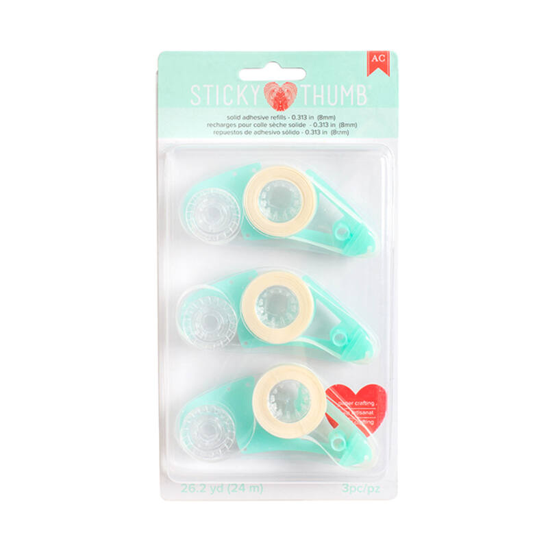 American Crafts Sticky Thumb Tape Runner Refill