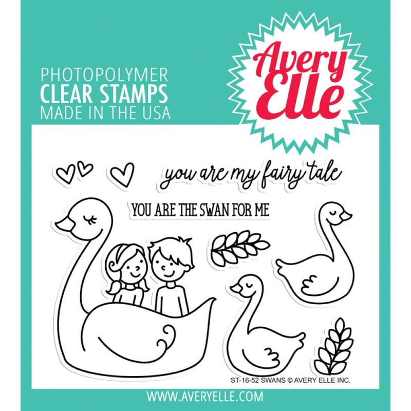 Avery Elle Clear Stamp - Swan