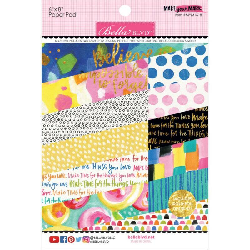 Bella BLVD - Make Your Mark 6x8 Paper Pad
