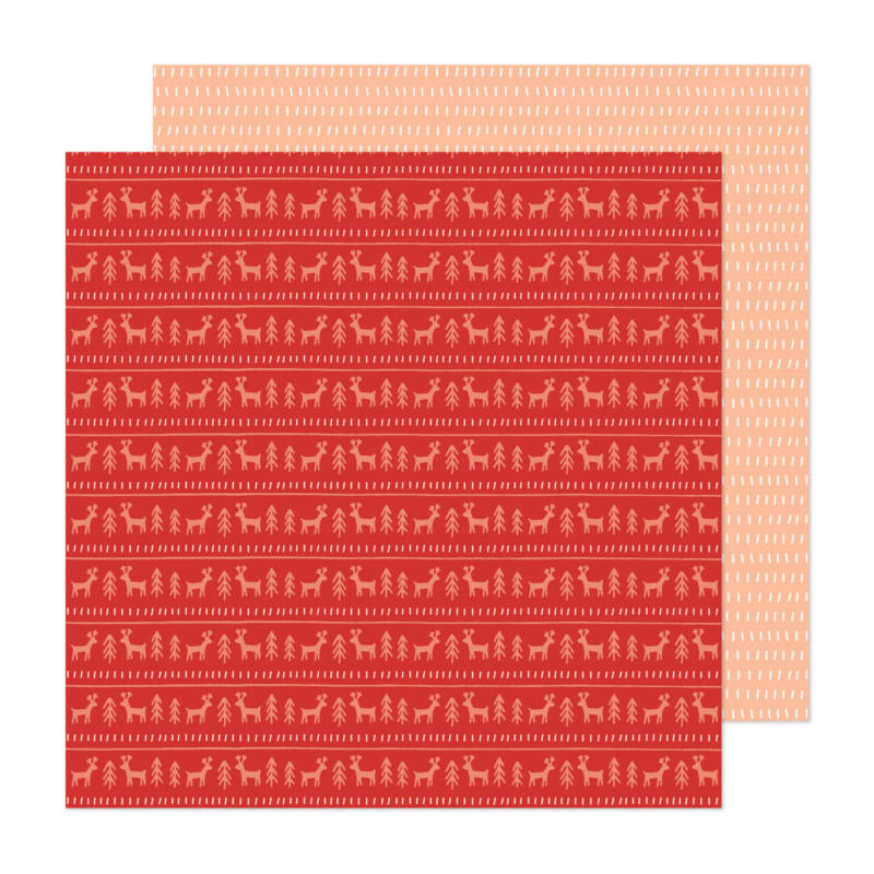 Crate Paper - Busy Sidewalks 12x12 Paper - Sweater Weather