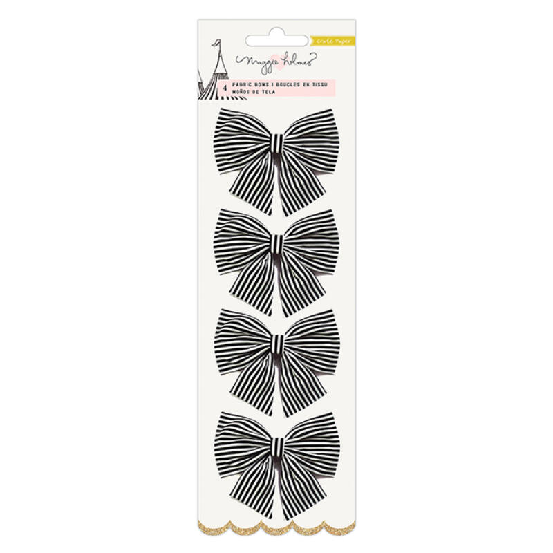 Crate Paper - Maggie Holmes Carousel Fabric Bows