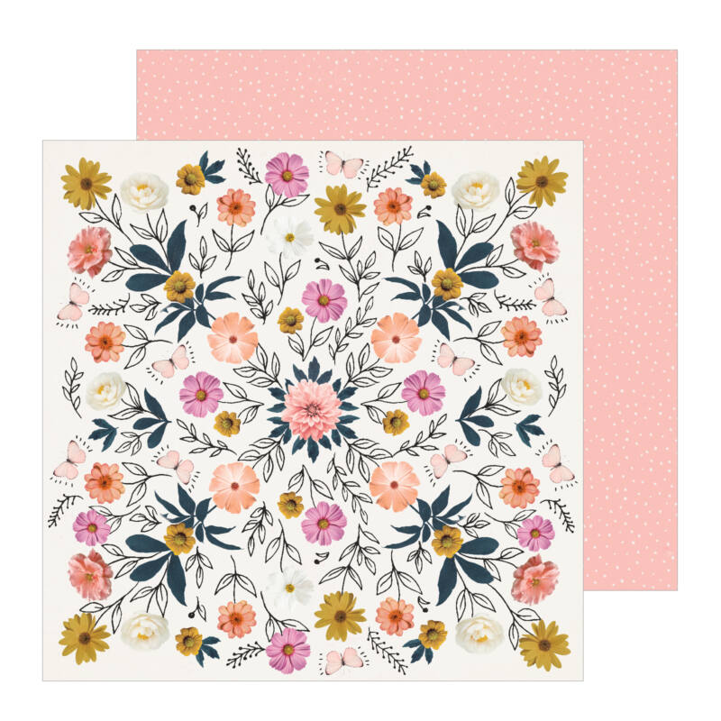 Crate Paper - All Heart 12x12 Patterned Paper - Wild
