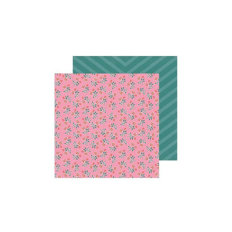 Crate Paper - All Heart 12x12 Patterned Paper - Rosie