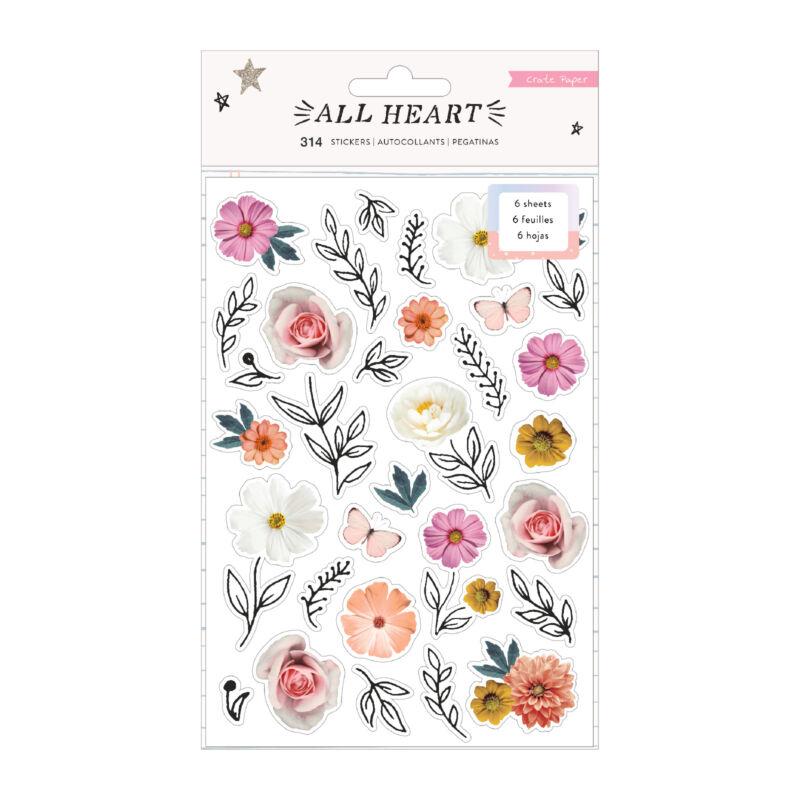 Crate Paper - All Heart Sticker Book (314 Piece)