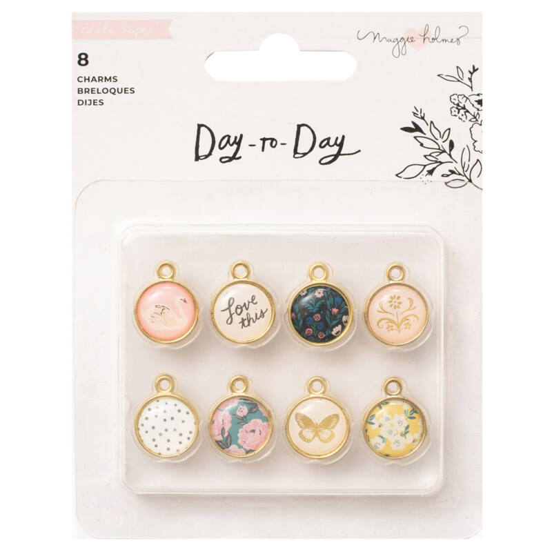 Crate Paper - Maggie Holmes Disc Planner - Charms (8 Piece)