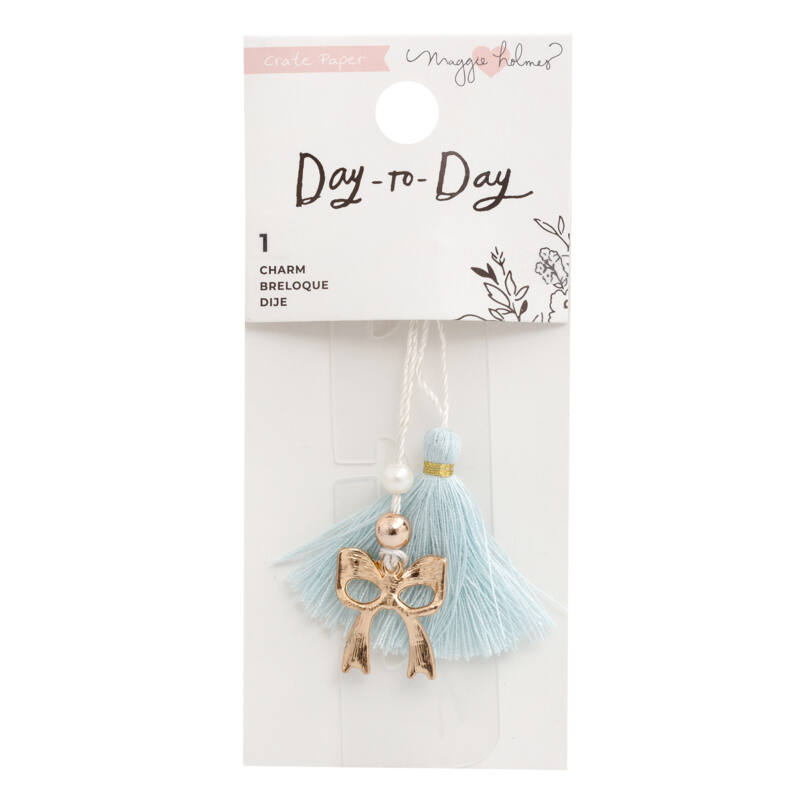 Crate Paper - Maggie Holmes Disc Planner - Bookmark - Bow Charm