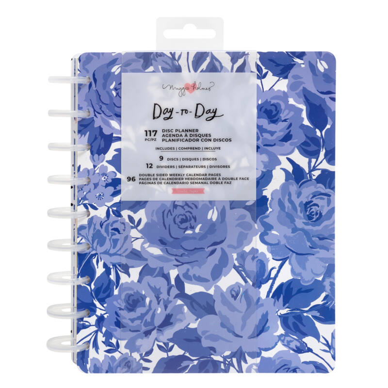 Crate Paper - Maggie Holmes Disc Planner - Sweet Rose