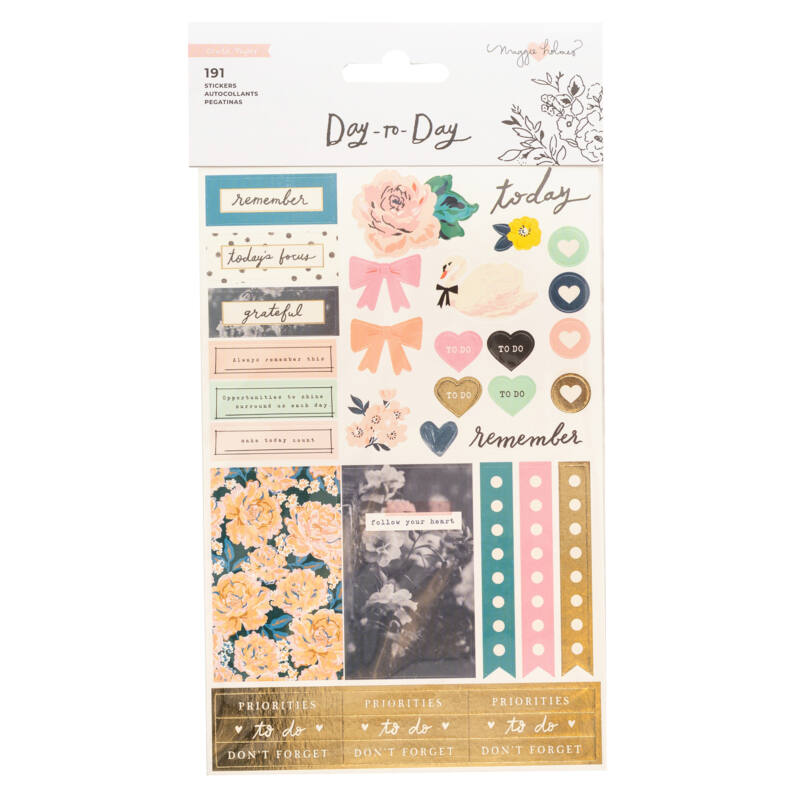 Crate Paper - Maggie Holmes Disc Planner - Icon Sticker Book (191 Piece)