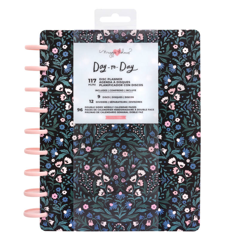 Crate Paper - Maggie Holmes Disc Planner - English Garden