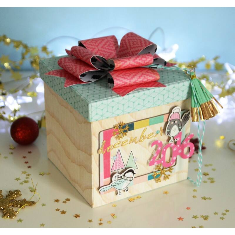 December Memories Box Workshop