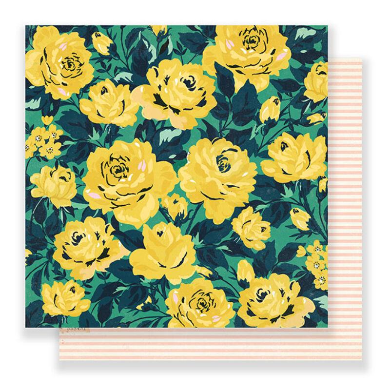 Crate Paper - Maggie Holmes Flourish 12x12 Paper - Grandiflora