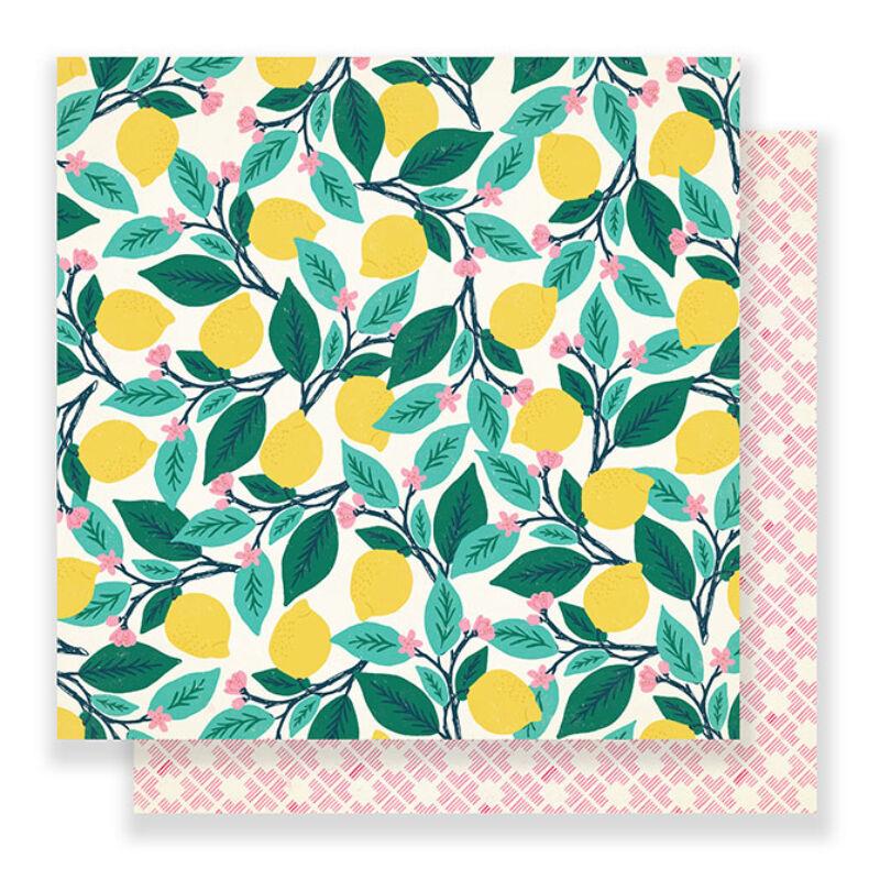 Crate Paper - Maggie Holmes Flourish 12x12 Paper - Ponderosa
