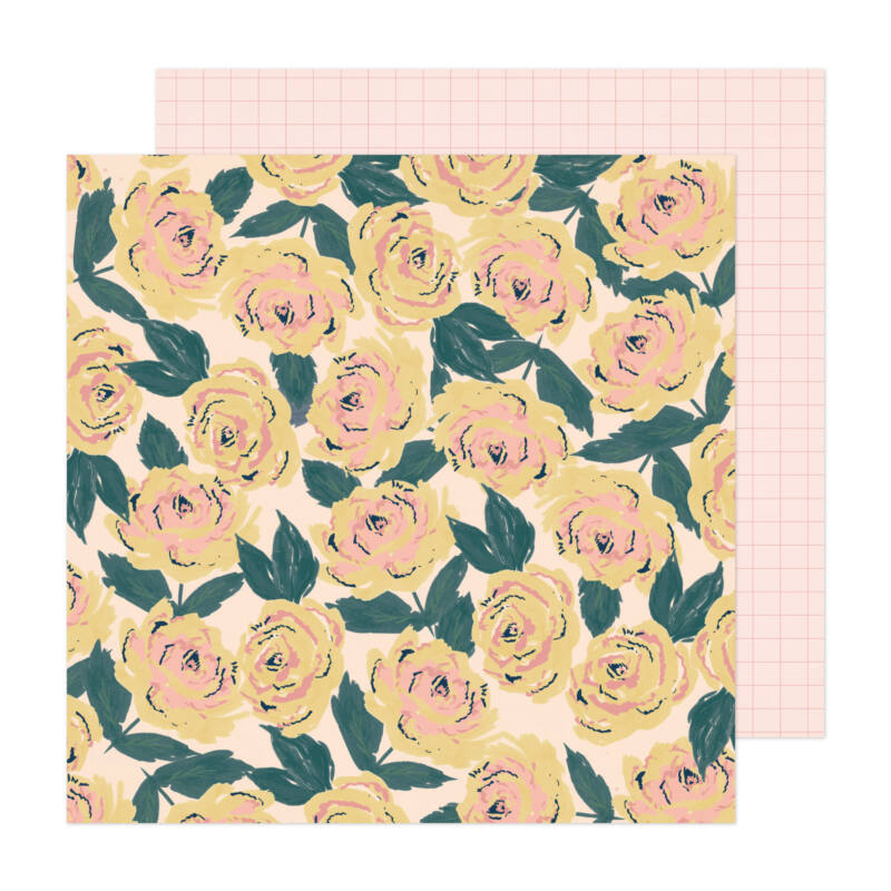 Crate Paper - Fresh Bouquet 12x12 Paper - Blooming
