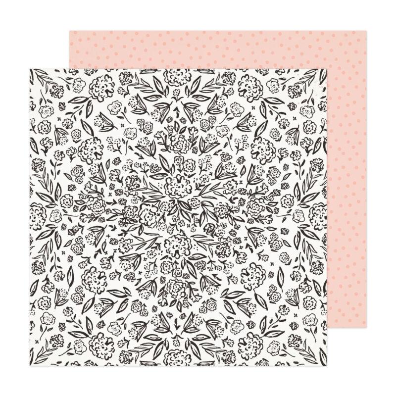 Crate Paper - Fresh Bouquet 12x12 Paper - Gardens