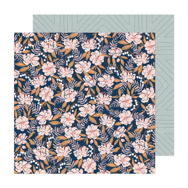 Crate Paper - Fresh Bouquet 12x12 Paper - Flutter
