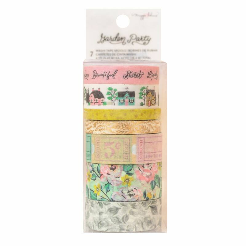 American Crafts - Maggie Holmes - Garden Party Washi Tape (7 Piece)