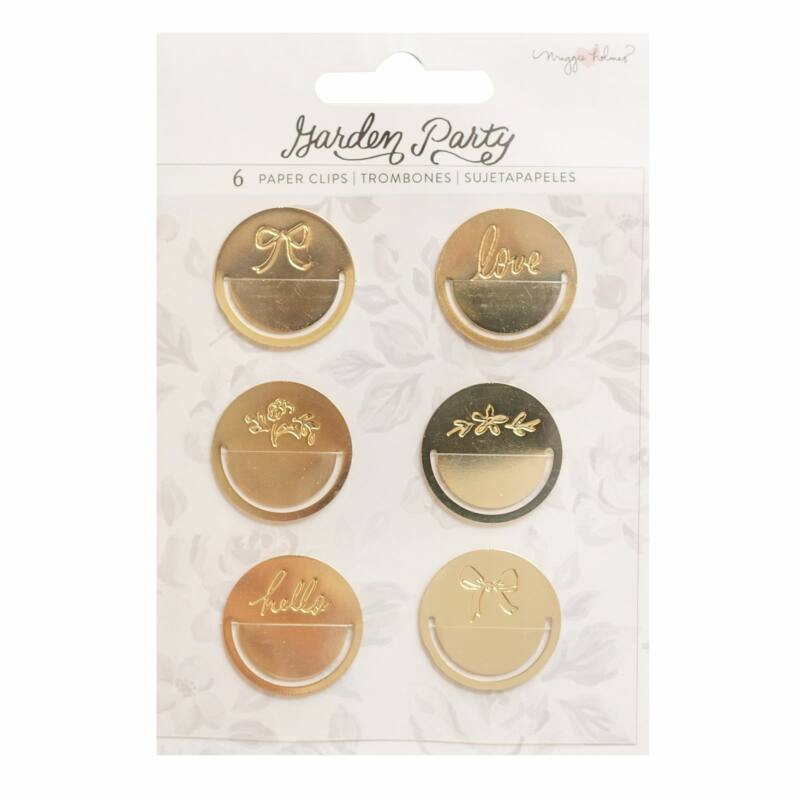 American Crafts - Maggie Holmes - Garden Party Paper Clips (6 Piece)