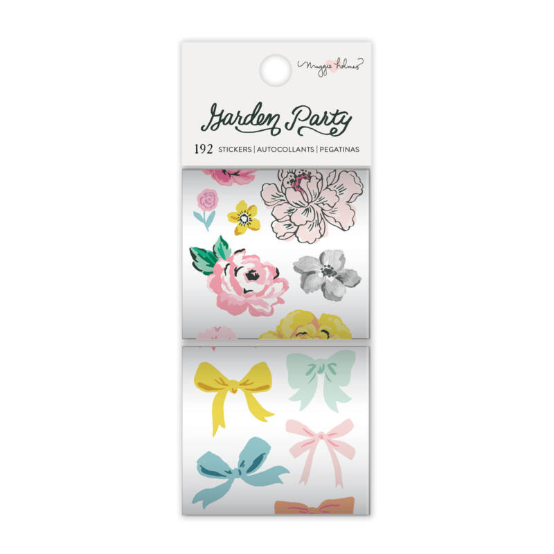 American Crafts - Maggie Holmes - Garden Party Sticker Rolls (2 Piece)
