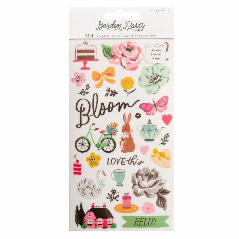 American Crafts - Maggie Holmes - Garden Party Sticker Book (304 Piece)