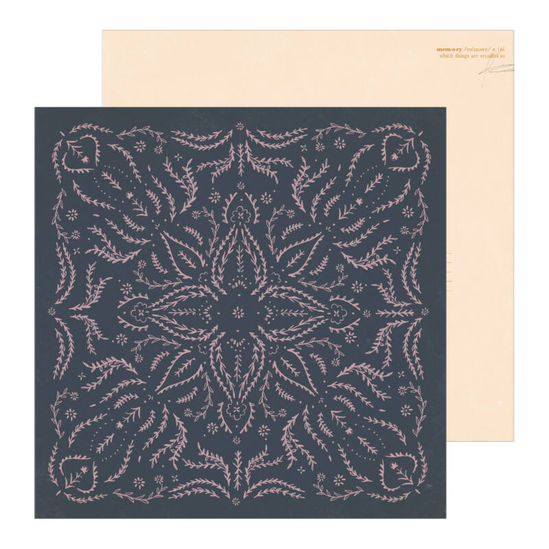 Crate Paper - Maggie Holmes - Heritage 12x12 Patterned Paper - Embroidered