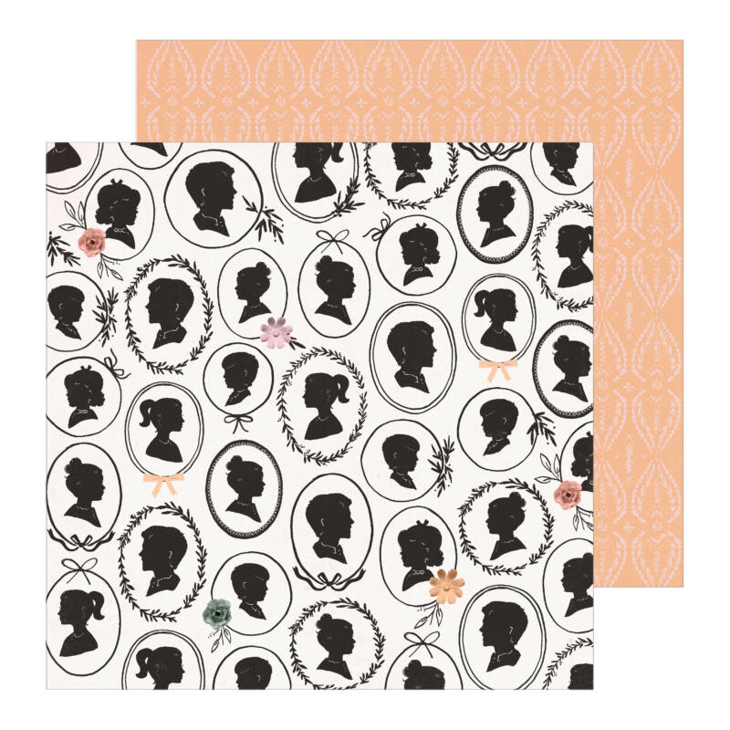 Crate Paper - Maggie Holmes - Heritage 12x12 Patterned Paper - Portrait