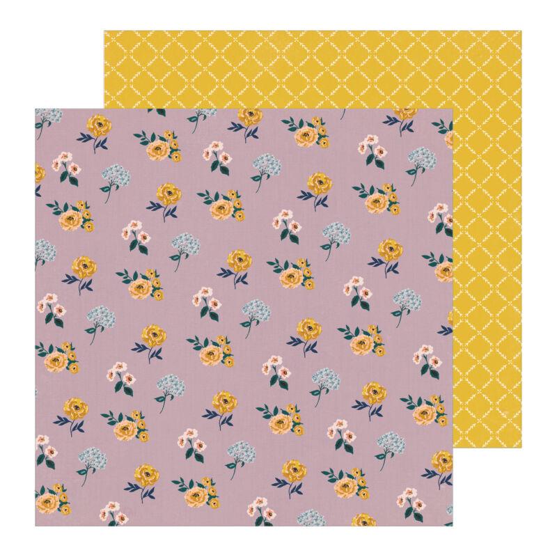Crate Paper - Maggie Holmes - Heritage 12x12 Patterned Paper - Elsie