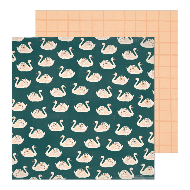 Crate Paper - Maggie Holmes - Heritage 12x12 Patterned Paper - Allie