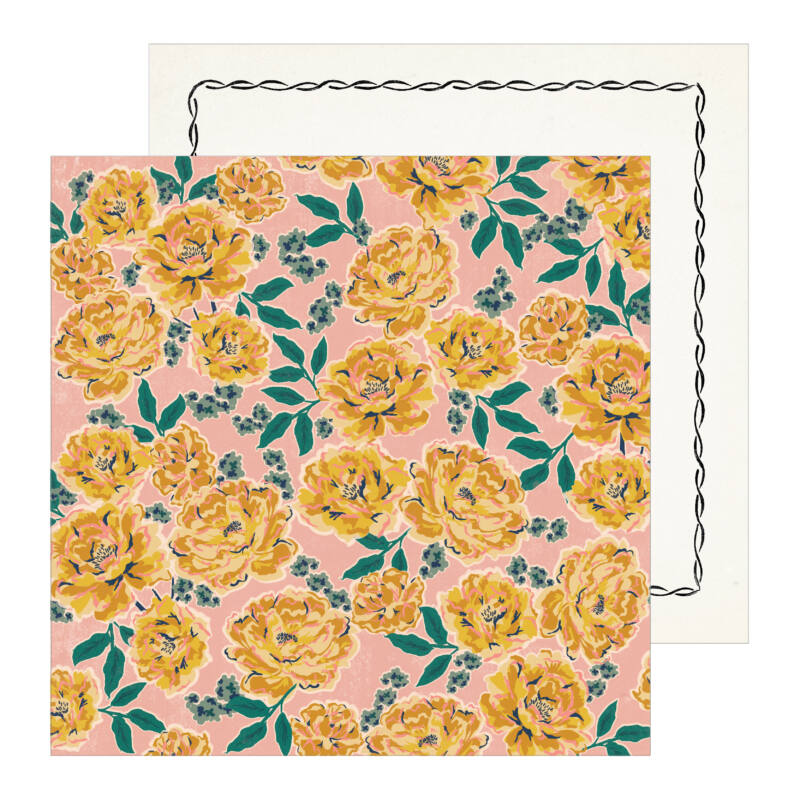 Crate Paper - Maggie Holmes - Heritage 12x12 Patterned Paper - Margaret