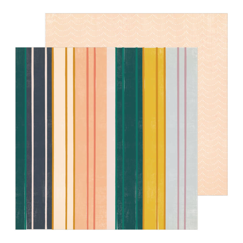 Crate Paper - Maggie Holmes - Heritage 12x12 Patterned Paper - Childhood