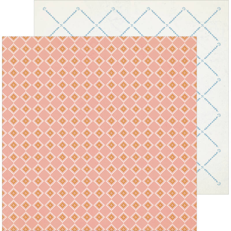 Crate Paper - Maggie Holmes - Heritage 12x12 Patterned Paper - In Memory