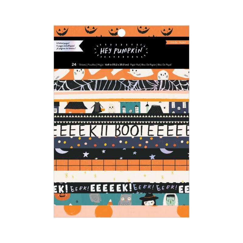 Crate Paper - Hey, Pumpkin 6x8 Paper Pad (24 Sheets)