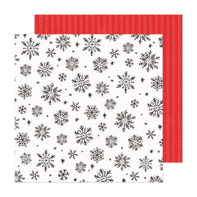 Crate Paper - Hey, Santa 12x12 papír - Sweet December