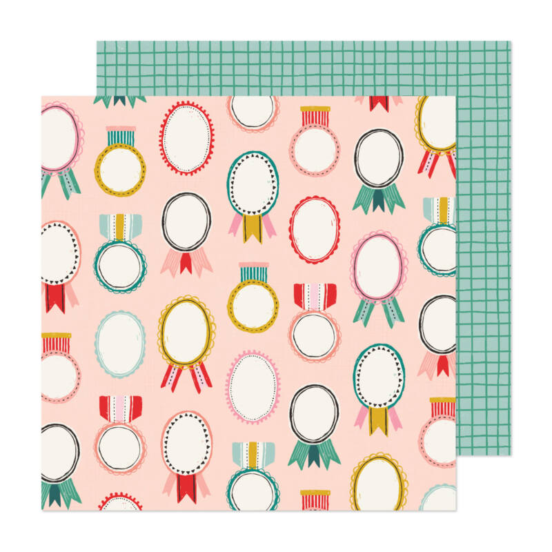 Crate Paper - Hey, Santa 12x12 papír - Merry and Bright